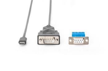 DIGITUS USB-C™ Serial Adapter, USB-C™ - RS485