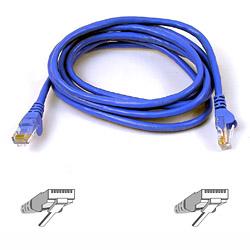 Belkin kabel PATCH UTP CAT6 2m modrý, bulk Snagless