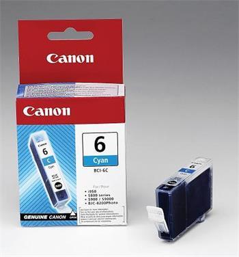 Canon BCI-6C Cyan Ink Cartridge 13ml (4706A002)