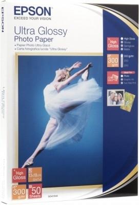EPSON paper 10x15 - 300g/m2 - 50sheets - photo ultra glossy