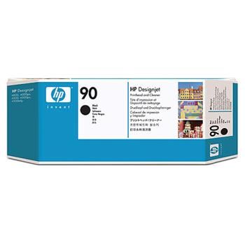 HP C5054A No. 90 Black Printhead and Cleaner pro DSJ 4000