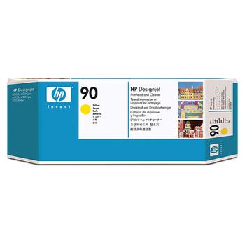 HP C5057A No. 90 Yellow Printhead and Cleaner pro DSJ 4000
