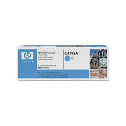 HP C4192A Cyan Toner Color LaserJet 4500 6k pages