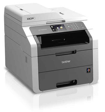 Brother DCP-9020CDW, A4,18 str/18 str.,ADF,LED tiskárna,kopírka,skener,síť,WiFi,duplex