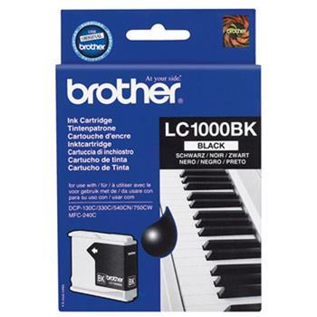 LC-1000Bk (ink. černý, 500 str. @ 5%) pro DCP-330C,DCP-540CN
