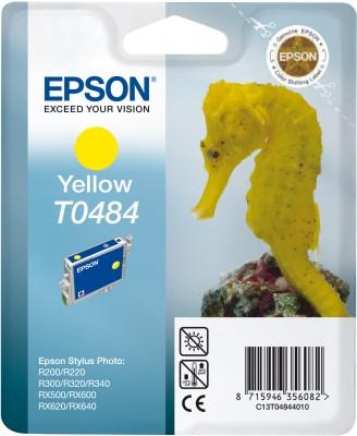 EPSON cartridge T0484 yellow (mořskýkoník)