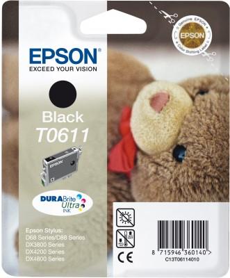 EPSON cartridge T0611 black (medvídek)