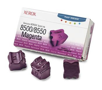Xerox-Genuine Solid Ink 8500/8550 Magenta (3 sticks)