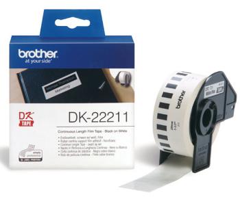 Brother - DK-22211 (bílá filmová role 29mm x 15,24m)