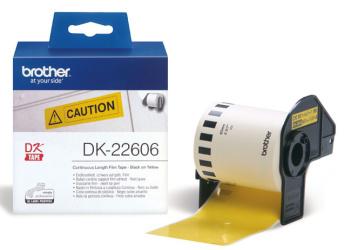 Brother - DK-22606 (žlutá filmová role 62mm x 15,24m)