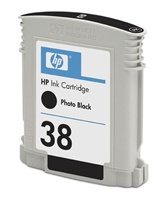 HP C9413A Ink Cart No.38 pro Photosmart Pro B9180, 27ml, Photo Black