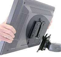 ERGOTRON Quick Release Bracket, redukce na úchyt ramena držáku pro LCD