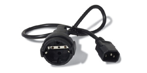 APC Power Cord [IEC 320 C14 to CEE 7/7(Schuko) Rec. - 0,61 m