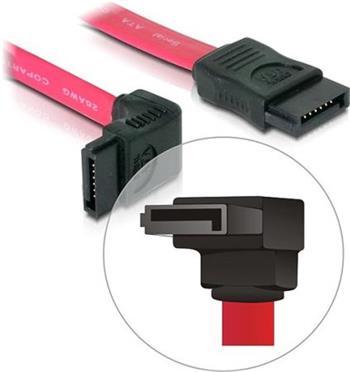 Kabel HDD SATA 50 cm přímý/dolů
