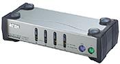 ATEN KVM switch CS-84AC PS/2 4PC vč. kabeláže 1,2 a 1,8m