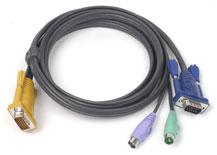 ATEN integrovaný kabel 2L-5202P pro KVM PS/2 1,8 M