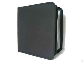 COVER IT Pouzdro na CD/DVD- 200ks, černé