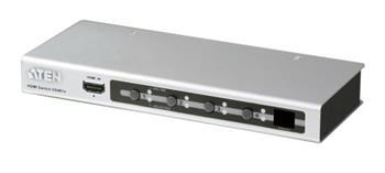 ATEN VS-481A 4-portový HDMI přepínač, dálkové ovládání