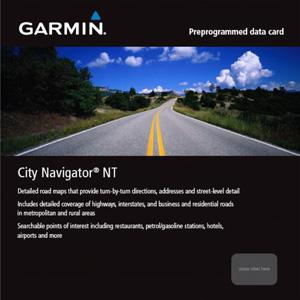 Garmin Uliční mapa Evropy na microSD/SD kartě - CityNavigator® NT Europe