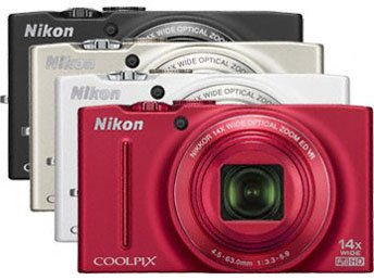 NIKON COOLPIX S8200 - 16,1 MP, 14x zoom VR - Black