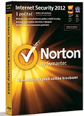 NORTON INTERNET SECURITY 2012 SK ochrana pro 5 PC na 1 rok